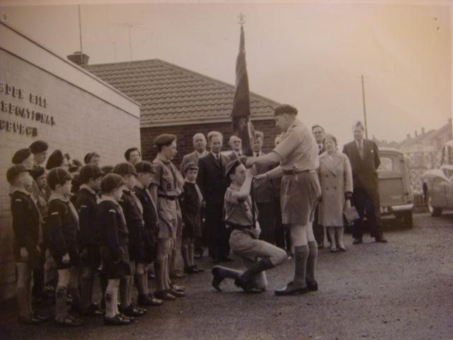 1st Warden Hill Scouts then
